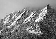 Flatiron Mountains, Boulder CO