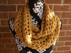 Ready To Ship THE FLORENCE Cowl Infinity Scarf by AllredsAntiques, $24.00