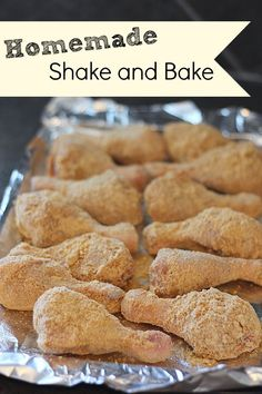 Homemade Shake and Bake recipe, so easy to make and tastes delicious, Cheaper than buying and a bulk recipe to keep in the fridge for when you need it!