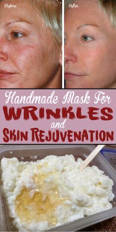 Handmade Mask For Wrinkles And Skin Rejuvenation
