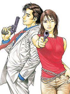 """Angel Heart"" Manga Begins English Digital Serialization Nicki Larson, City hunter, Angel Heart, Hunter Anime, Character Drawing, 2d Character, Manga Pages, Illustrations And Posters, Couple"