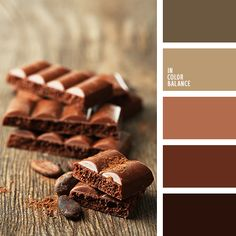 In Color Balance Red Color Schemes, Red Colour Palette, House Color Schemes, Color Trends, Color Combos, Color Harmony, Color Balance, Café Branding, Chocolate Color