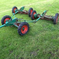 Ransomes Magna Trailed Gang Mowers - Bertie Green
