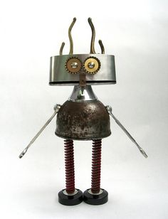 by Brian Marshall, adopt-a-bot... - hair standing-on-end = she has teenager hair !!!!   .......fobot