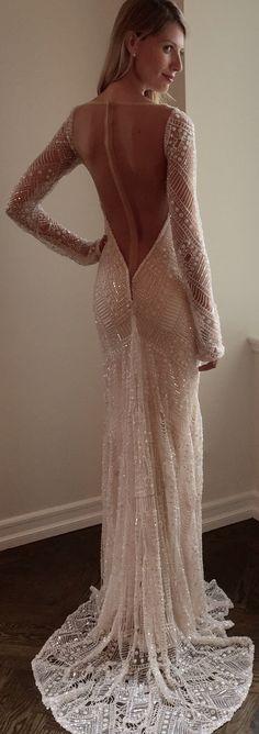 #BERTA Back Beauty from the NY Bridal Fashion Week <3