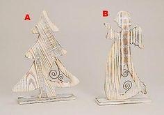 Deko-Figur-Figur-Engel-oder-Baum-Weihnachten-Holz-2sort-H33cm
