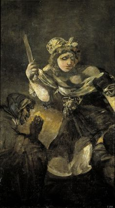 [ Francisco Goya   Judith and Holofernes   Judit y Holofernes   Museo del Prado, Madrid, Spain ]