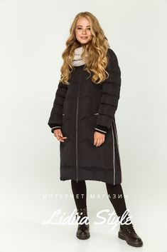 LidiiaStyle пуховик терракот 211-Т Winter Jackets, Fashion, Winter Coats, Moda, La Mode, Fasion, Fashion Models, Trendy Fashion