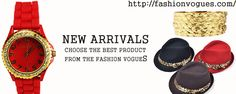 New arrivals in fashion vogues select the best product for your personality improvement. http://tinyurl.com/kbncfa7