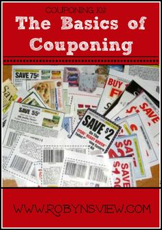 MMM Couponing 101: The Basics of Couponing - Robyn's View pinned from Rock N Share #64