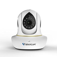 Vstarcam C38s IP Camera Indoor Wireless Night Vision Two-way Voice Network CCTV P2P Onvif Multi-stream WPS Baby Monitor Mobile Phone Remote Monitoring * For more information, visit image affiliate link.