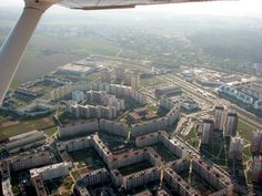 Airplane View, City Photo, Big