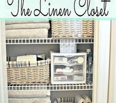 Linen Closet Organization and a Peek at My Closet Pharmacy