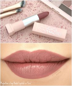 """Maybelline x Gigi Hadid Lipstick in """"Erin"""": Review and Swatches"""