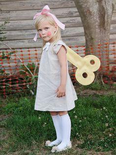 Wind Up Doll Costume DIY