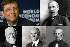 Los 10 Estadounidenses Más Ricos en la Historia
