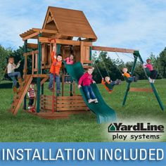 Imagination Station Playset by Yardline Play Systems®
