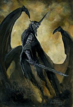 Witch King of Angmar, Simple design, Menacing appearance, Instantly recognisable.