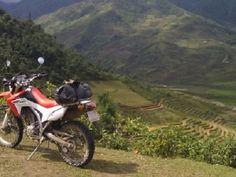 Vietnam North-West motorbike packages _ Vietlong travel: SHORT NORTH-WEST VIETNAM MOTORBIKE TOUR TO THAC BA...