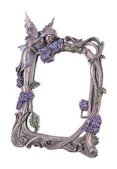 Stojące lustro (z podpórką) w stylu secesyjnym, sygnowane Veronese.