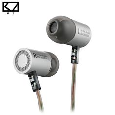 KZ ED4 Metal Stereo Earphones Noise Isolating In-ear Music Earphone with Microphone for smartphones