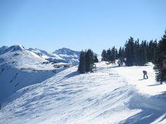 Wolf Creek Ski Area - The 11,904' summit is on the left.