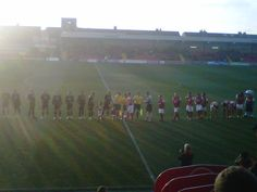 Fleetwood Town v Bristol Rovers in League Two at Highbury (January 2013)