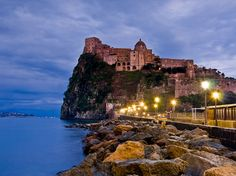 Scenic Islands of Italy - Though all the islands in the Bay of Naples are fantastically scenic, our pick is Ischia, the largest of the three.