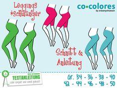Schwanger+*Leggings+Gr.+34–50+e-Book+mit+Schnitt+von+Erbsenprinzessin+auf+DaWanda.com