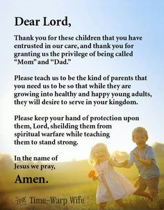 A Prayer for Parents