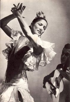 Carmen Amaya (1913-1963) ~ born in Barcelona ~ 'the most extraordinary personality of all time on flamenco dance'