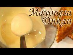 ▶ Mayonesa Dukan (Como la verdadera) - Dukan Mayonnaise - Receta Fase Ataque - YouTube