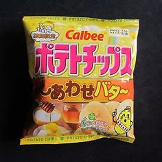 CALBEE-Happy-Honey-Butter-Chip-58g-Japan-version-of-Korean-Hottest-Potato-Chip