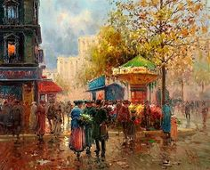 Oil Painting by Spanish artist Emilio Payes