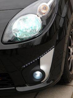 Xenon en LED verlichting op de Twingo