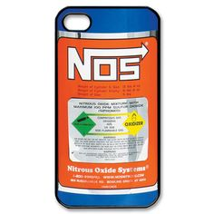 NOS Nitrous Oxide Systems iPhone 5 Case Cover by PimpMyCases, $15.50