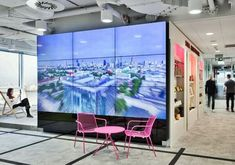 Workplace Solutions designed the offices of media and marketing company MediaCom, located in Warsaw, Poland. Meeting at Zbawiciela square, conference at Corporate Office Design, Modern Office Design, Corporate Interiors, Office Interior Design, Office Interiors, Office Designs, Digital Signage, Digital Wall, Office Fit Out
