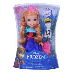 BOUGHT - Acley - Disney Frozen 6 inch Toddler Doll - Anna