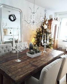 10.5 tuhatta seuraajaa, 460 seuraa, 377 julkaisua - Näytä käyttäjän 💎INTERIOR By Roosa💎 (@thesewhitedreams) Table Settings, Dining Table, Rustic, Interior, Instagram Posts, Christmas, Furniture, Home Decor, Dinner Table