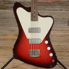 Fano PX4 Bass Silvertone Burst USED (s428)