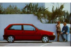 FIAT Tipo  88-95 coupe lateral right - Zdjęcia