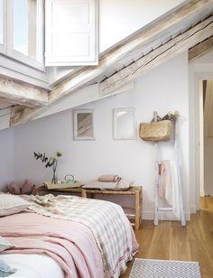 Le Plus Joli Appartement Sous Combles De Madrid · Planete DecoChambres De  Grande FilleIdées ...
