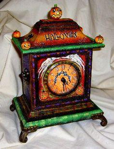 Bethany Lowe Designs Halloween Clock #12