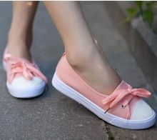 sneakers online on sale at reasonable prices, buy 2016 new low shallow mouth women canvas shoes fresh breathable casual shoes lazy flats single shoes women shoes from mobile site on Aliexpress Now! Dream Shoes, Crazy Shoes, Me Too Shoes, Slip On Sneakers, Shoes Sneakers, Shoes Heels, Cute Shoes Flats, Sneakers Women, Sock Shoes