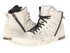 Converse by John Varvatos Weapon Zip Hi - Hidden Hardware Leather - Zappos.com Free Shipping BOTH Ways