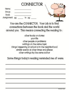 Literature Circles Printables