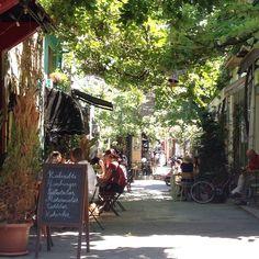 Beautiful street view from Karaköy