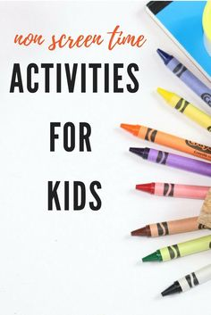 33 Non Screen Time Activities For Kids - Easy Mommy Life