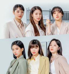 Kpop Girl Groups, Korean Girl Groups, Kpop Girls, K Pop, Moda Kpop, Soyeon, All About Kpop, Soo Jin, Uzzlang Girl