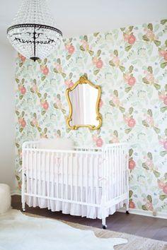 soft feminine nursery